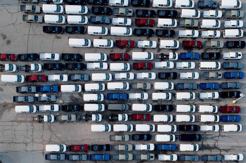 晶片短缺有感!美國2月汽車出口降至8個月低點