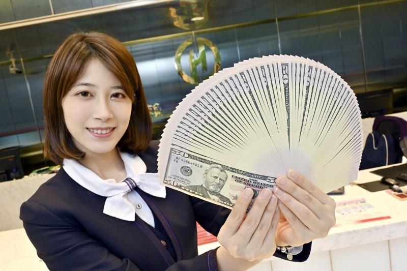 匯市觀望量縮!新台幣收27.704元、升6.3分
