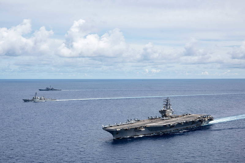 美軍要來了!郭文貴爆:美航母將停靠台灣 在台部署飛彈防禦系統