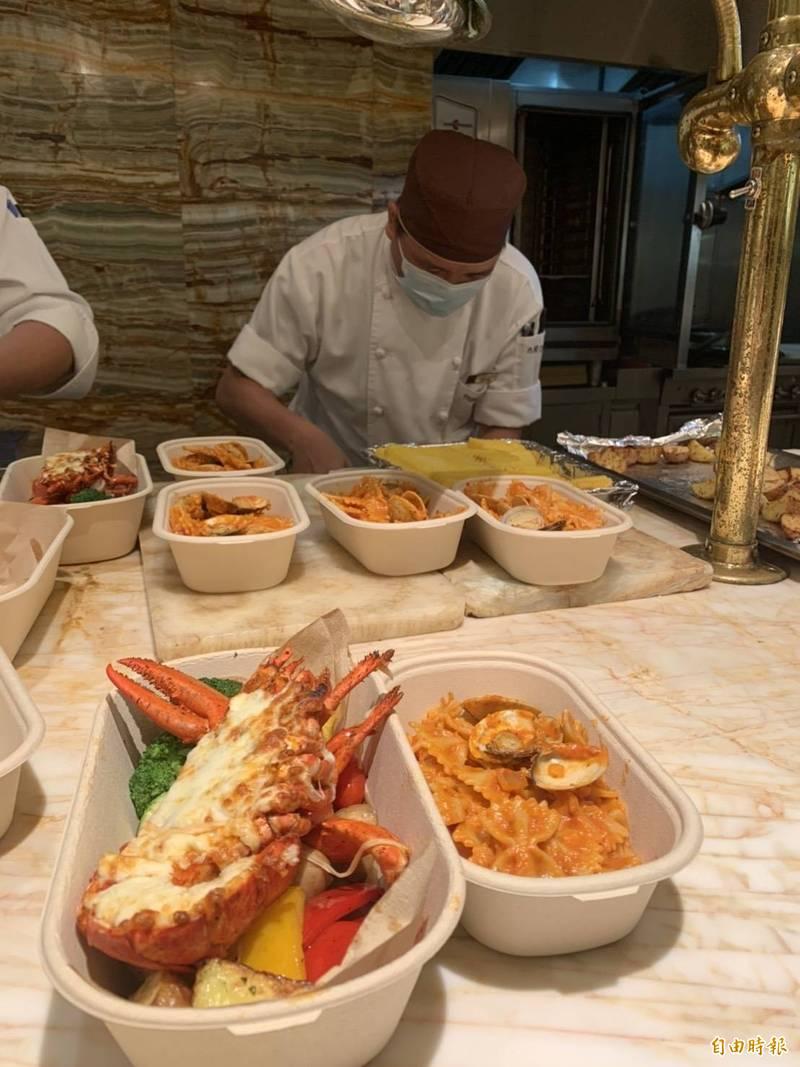 [新聞] 台中五星級飯店拚外送 便當出現198元龍蝦
