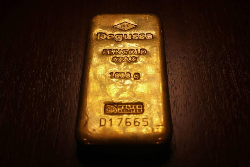 美公債殖利率大降 金價登上近3週高點、出現黃金交叉 - 自由財經