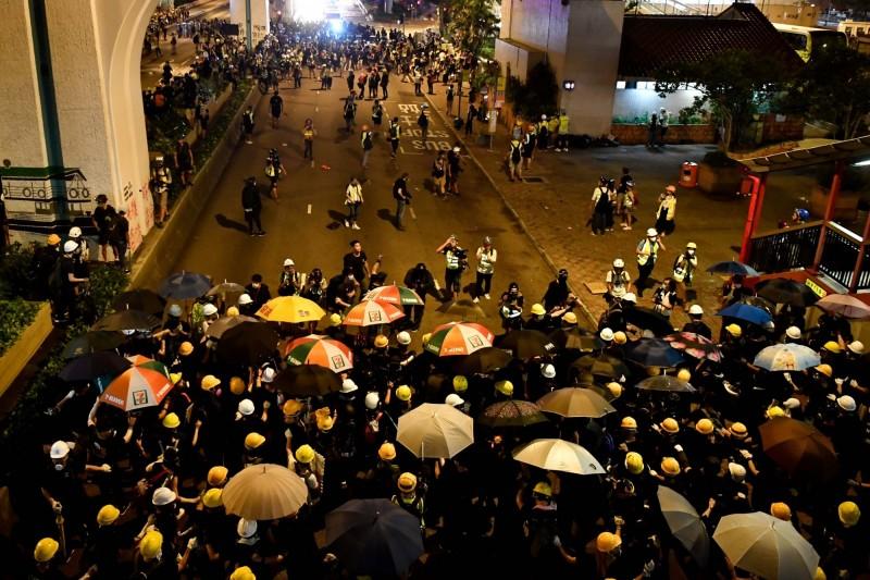 香港政局社會動盪 房地產買家觀望