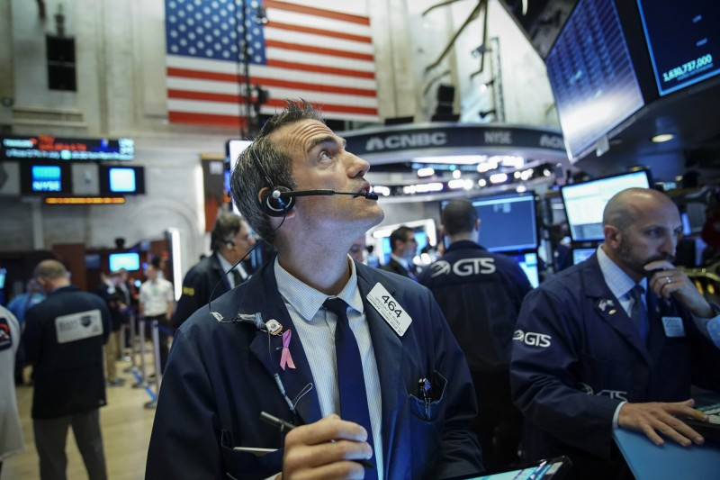 美國公債殖利率反彈  美股週1道指開盤大漲300點