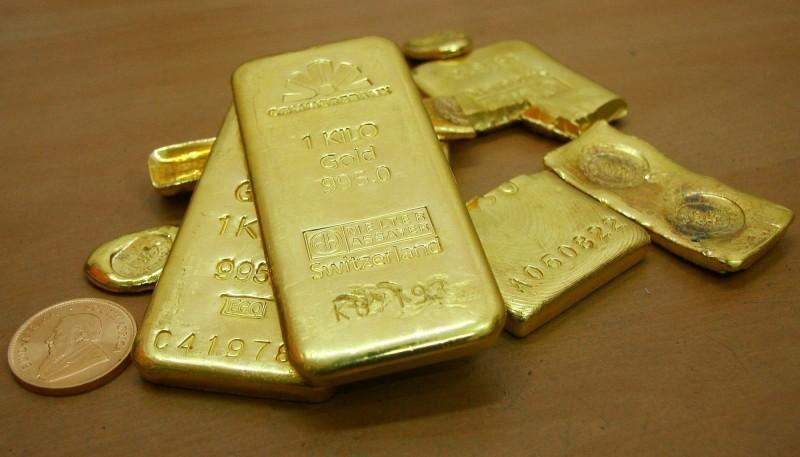 避險需求降低 黃金下跌12美元