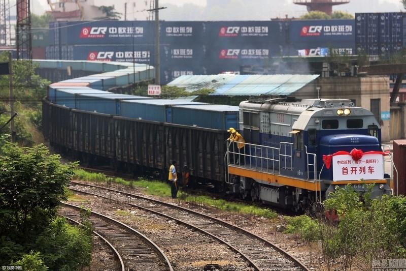 中國「一帶一路」大騙局,中歐貨運火車有大量空貨櫃