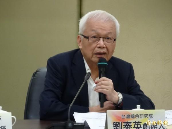週刊爆83歲劉泰英周旋4女 最嫩長腿妹小他53歲!