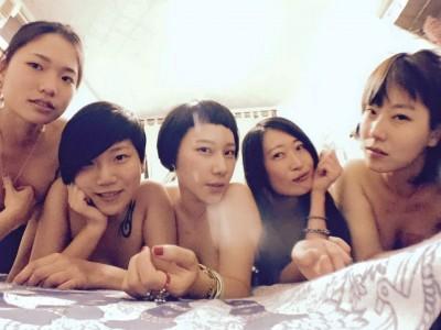 劉美妤爭取上空權    嗆蘋果「非太陽花學運女將」