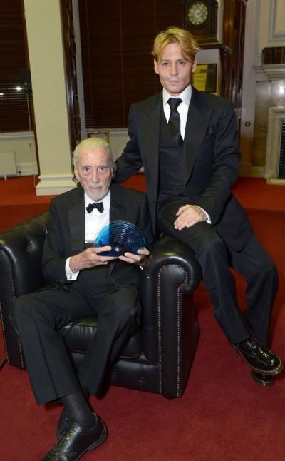 克里斯多福李92歲還在拍電影
