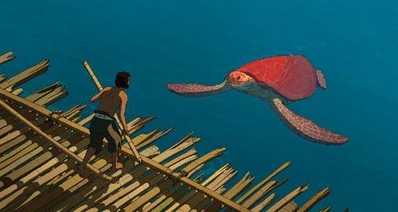找回昔日感動  吉卜力新作《紅色海龜》明年上映