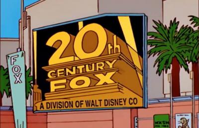 迪士尼併購福斯  《辛普森家庭》20年前早預言