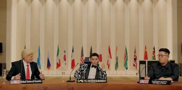 跟時事玩「川金會」  BIGBANG勝利新歌引話題