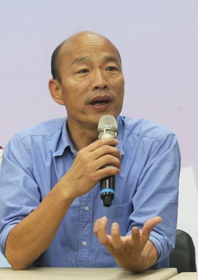館長開第一槍  切割韓國瑜「他殺人放火與小弟無關」