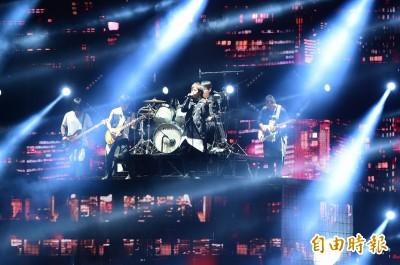 五月天巡演吸415萬人 阿信在瑪莎面前唱梁靜茹歌