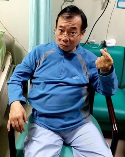 廖峻「中風住院影片」遭外流 兒發聲明怒斥:不尊重隱私