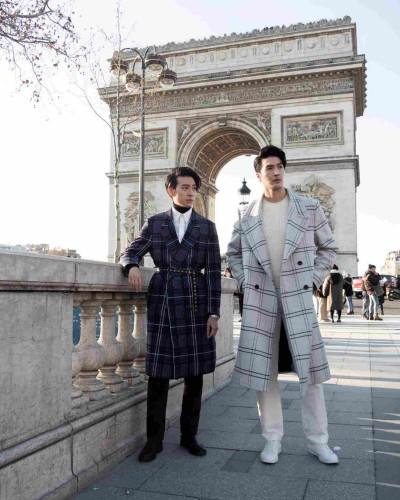 錦榮巴黎看秀 一擊掌卻被偷手機
