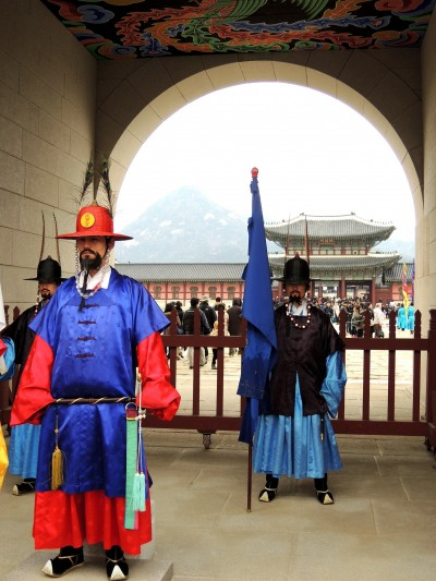 首爾景福宮的戍衛  帶你走進朝鮮時空
