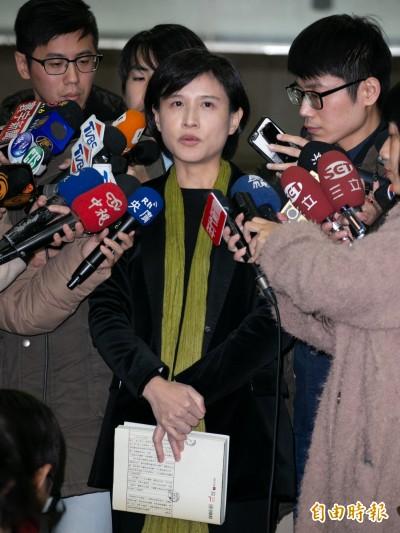 (影音)遭掌摑後首度出面 鄭麗君:台灣已夠成熟來面對轉型正義