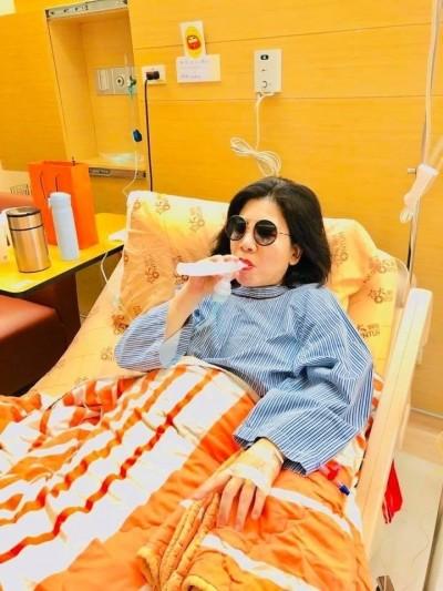 才剛動完手術    陳文茜「右肺再現腫瘤」將二度開刀