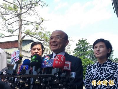 聚焦民進黨初選 蘇貞昌:希望參與者能以智慧協調出最大力量