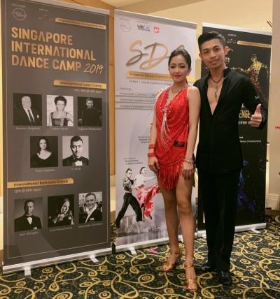 恭喜!台語女星新加坡國標大賽奪冠 爽喊:去黑池比賽