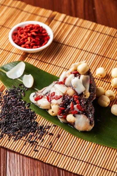 西華國宴主廚掌舵 冠軍養生粽蔬食者有口福