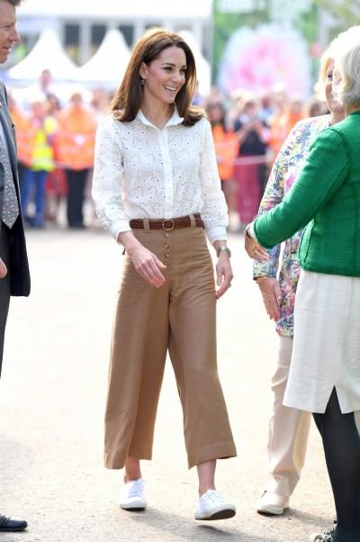 凱特王妃再展親民作風  腳上這雙鞋不到2千元