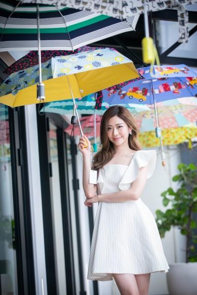 這把傘撐下去直接降8℃  晴雨都可帶著走