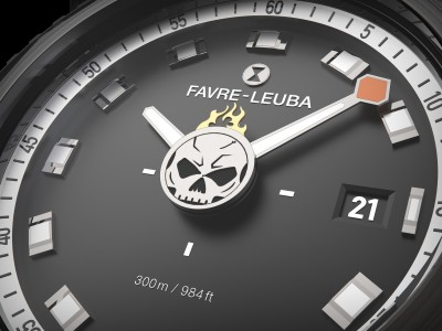 這款火燄骷髏秒針盤潛水錶超限量 貨都未到已賣一半!