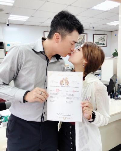 約炮腥夫阿翔再婚了!娶女團成員升格當爸