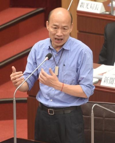 韓國瑜選總統 名嘴諷「反攻回去,把台北收復」