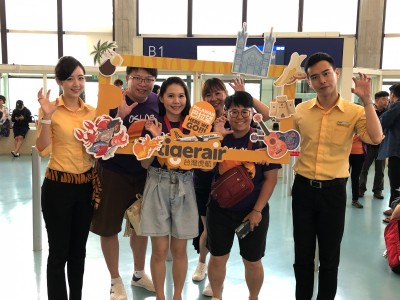 台灣虎航巴拉望航線今日首航  遊玩菲律賓更便利