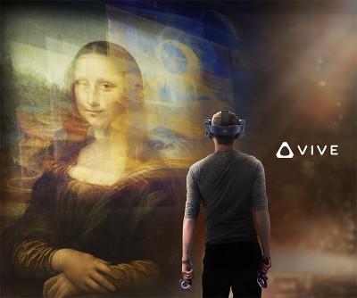 羅浮宮攜手HTC 虛擬實境走進達文西名畫《蒙娜麗莎》