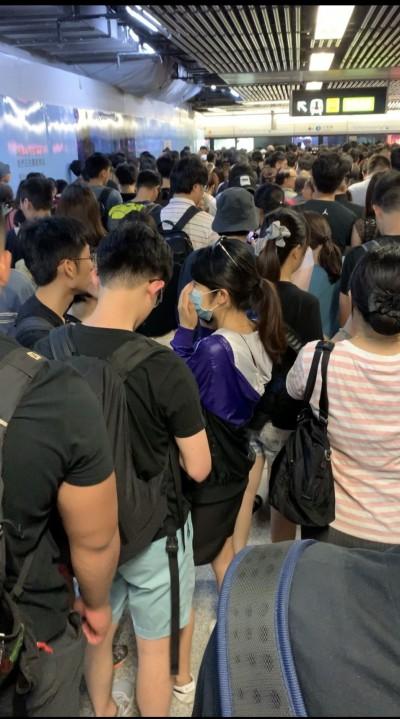 反送中》香港地鐵急剎車 張雅琴:以為要爆炸
