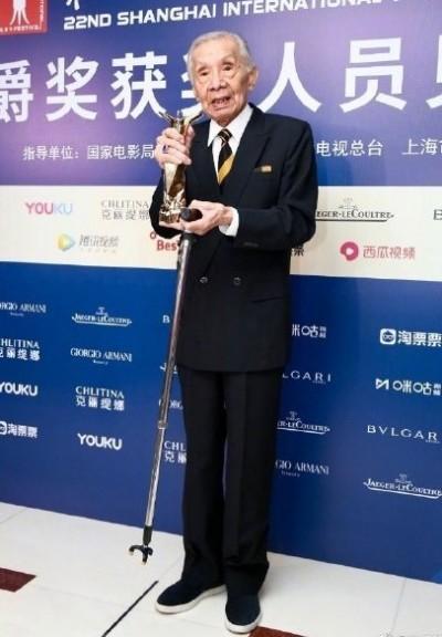 96歲常楓讚啦! 揚威上海勇奪最佳男主角