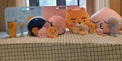 (影音)南韓紅翻天的Kakao Friends首度攜手全家集點 9款超療癒商品必蒐