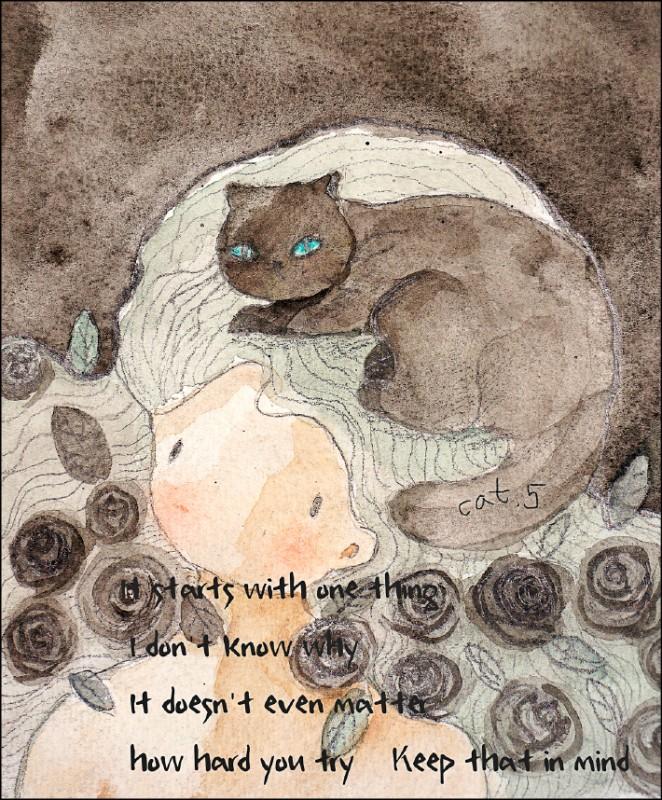 〈戀愛絮語〉黑貓的罪