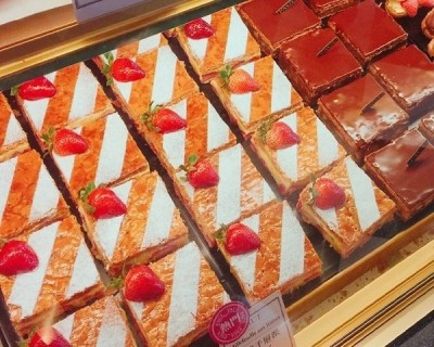 PAUL草莓千層買1送1 備貨1公噸草莓迎法國慶