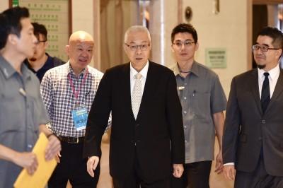 吳敦義該交棒了  名嘴諷「看看民進黨新副秘書長」