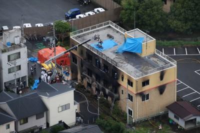 日本動畫工廠燒死25人 發行計畫不變抗暴力