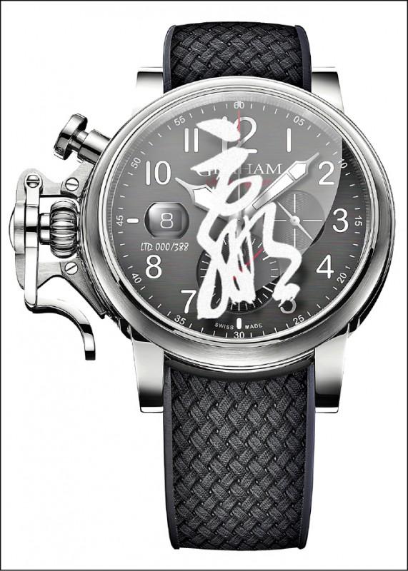 【消費新聞】前衛塗鴉錶 獨特街頭潮味
