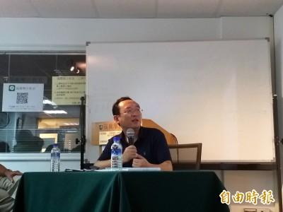 白衣人行兇疑為「港府勾結黑道」 流亡作家:像兩蔣時代的國民黨