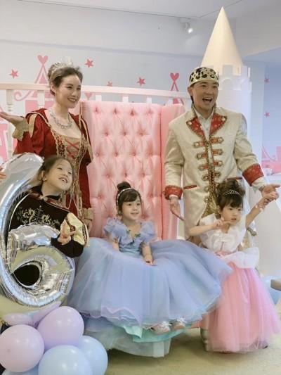 太夢幻!小泡芙6歲生日趴 10位公主齊聚一堂