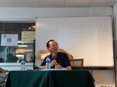 白衣惡煞行兇港民   流亡作家警告:台灣人對中共普遍無知「很危險」
