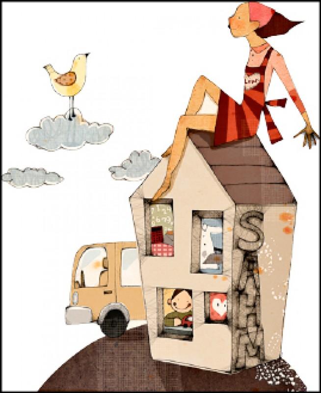 【家庭親子】〈極品一人家庭〉建造一個專屬自己的家