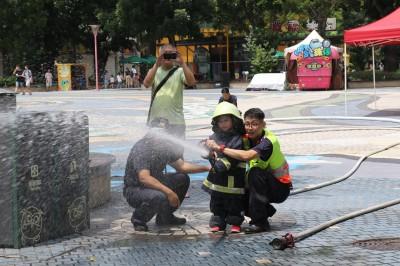 小小警察、消防、國軍體驗活動  暑假小朋友歡樂暢玩!