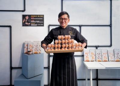 不顧工作人員反對!詹姆士扛120顆蛋「高雄會友」