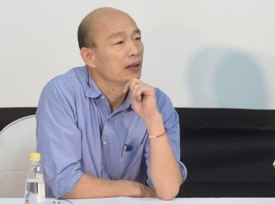 韓國瑜行程曝光 他爆「周一睡到自然醒」