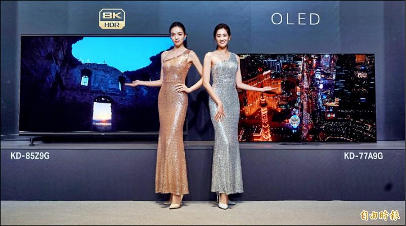 【消費新聞】85吋8K電視 近60萬月底開賣