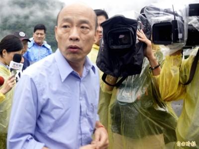 籲韓國瑜要告快告 他怒轟「拜託像個男人,好嗎?」