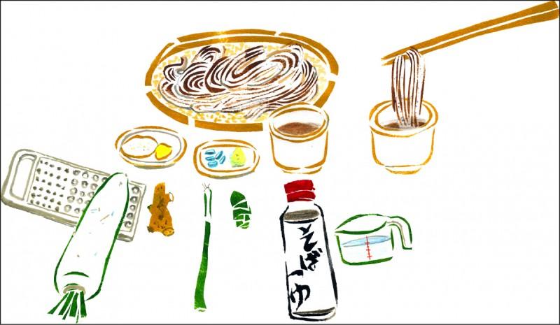 【家庭親子】〈田舍生活〉日本涼麵 夏日風情